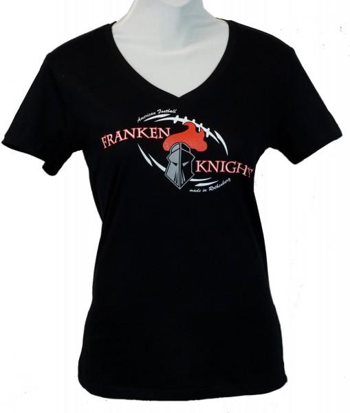 Franken Knights Classic Damen T-Shirt 2020 schwarz