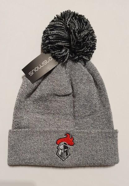 Franken Knights Mütze Snowstar grau