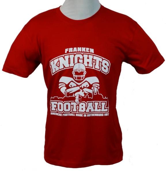 Franken Knights Herren T-Shirt Classic 2018 rot