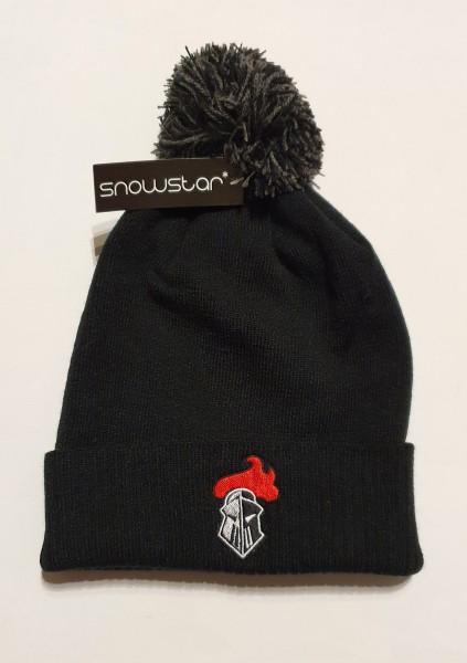 Franken Knights Mütze Snowstar schwarz