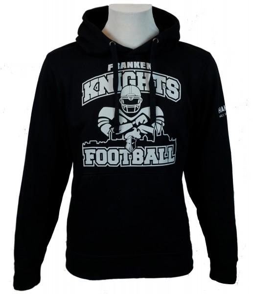 Franken Knights Hoody 2018 Sweatshirt schwarz